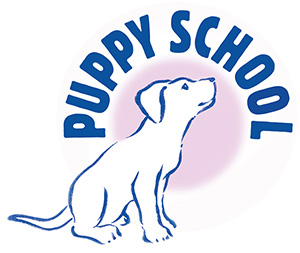Puppy School colour logo